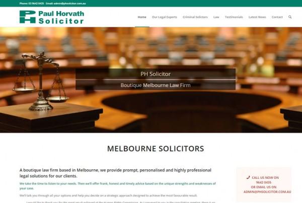 Web Designer Portfolio PH Solicitor