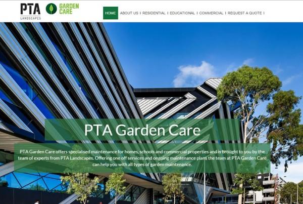 Website Portfolio PTA Gardencare