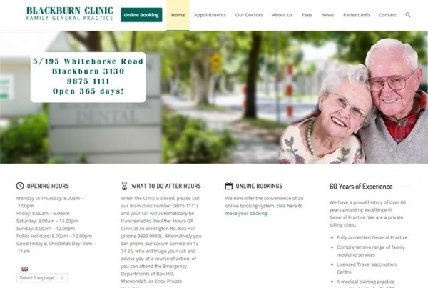 portfoliowill Blackburn Clinic