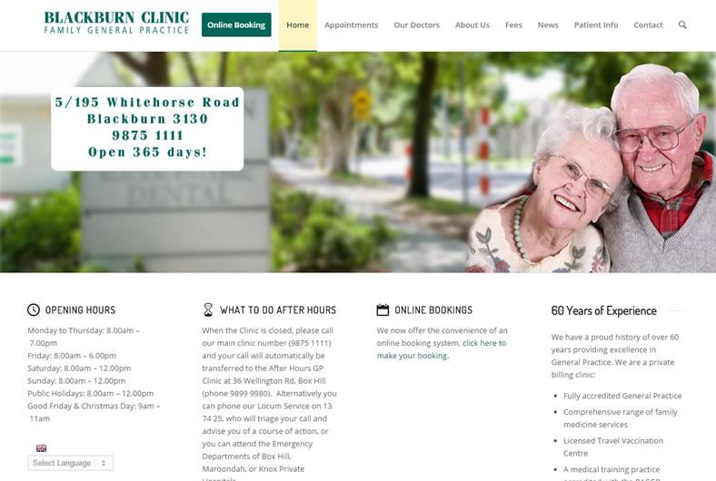 portfoliowill Blackburn Clinic